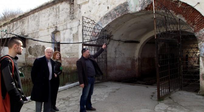 Vizita subsecretarului de stat Octav Bjoza la Fortul 13 Jilava. Intensificarea demersurilor la nivel oficial.