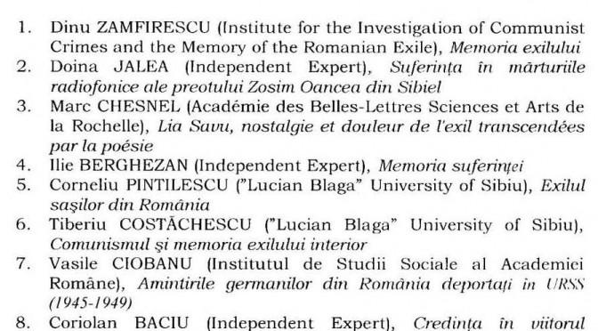 Eveniment ştiinţific de anvergură internaţională la Sibiu