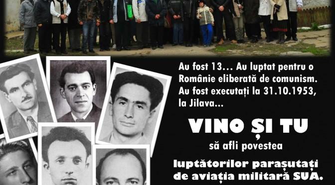 PELERINAJ MEMORIAL: Fortul 13 Jilava – în memoria luptatorilor anticomunisti parasutati de aviatia SUA