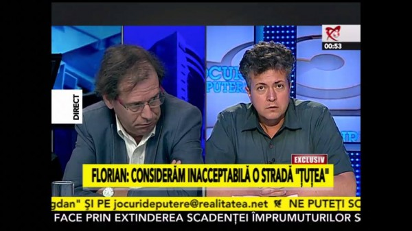 """Reprezentantul Fundatiei Ogoranu discriminat la Realitatea TV. Florin Dobrescu, izolat ca """"dusmanii poporului"""" din anii 1950!"""