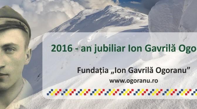 2016 – An jubiliar ION GAVRILA OGORANU