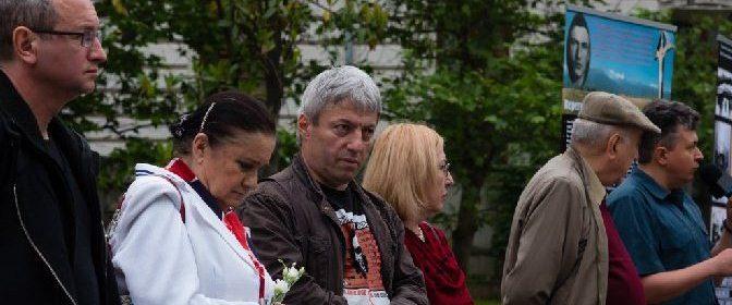 Vernisajul expozitiei jubiliare la Bucuresti.