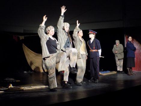 Temnitele comuniste pe scena Bucurestiului. MISLEA, CAMERA 4 s-a jucat la Sala Dalles.