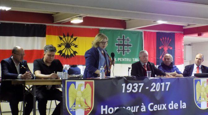 Nationalistii s-au reunit la Paris. Drapele românesti la marsul Jeannei d'Arc.