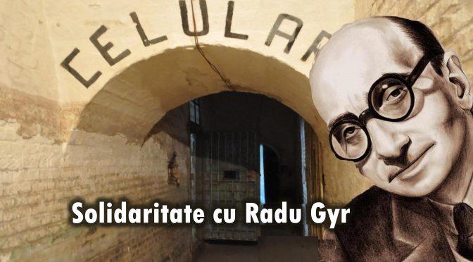 SOLIDARITATE CU RADU GYR! Petitie publica pentru oprirea schimbarii numelui strazii RADU GYR la CLUJ.