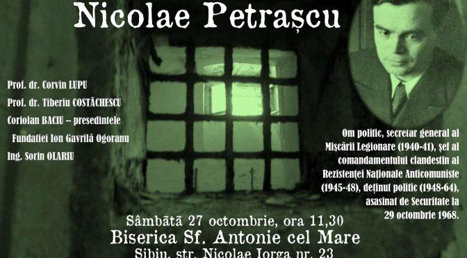 In memoriam: 50 ani de la asasinarea lui Nicolae Petrascu